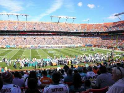 Hard Rock Stadium section 143
