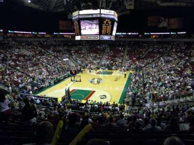 KeyArena, section: 122, row: 24, seat: 9
