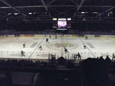 Moncton Coliseum, section: 29, row: H, seat: 6