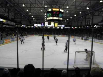 Sarnia Sports & Entertainment Centre, section: 113, row: 5, seat: 8
