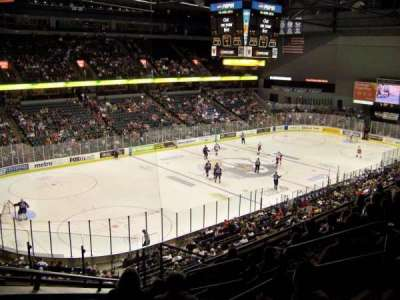 Van Andel Arena, section: 225, row: H, seat: 1