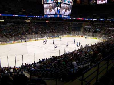 BMO Harris Bradley Center, section: 204, row: Y, seat: 1