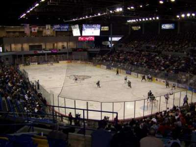 BMO Harris Bank Center, section: 233, row: OO, seat: 14