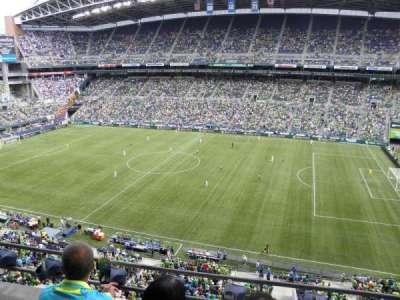 CenturyLink Field, section: 332, row: C, seat: 18