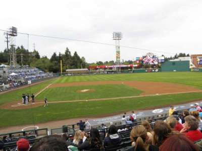 Cheney Stadium, section: 7, row: 4, seat: B