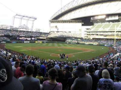 T-Mobile Park, section: 131, row: 33, seat: 9