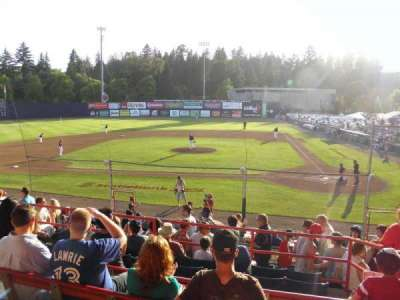 Nat Bailey Stadium, section: 8, row: 7, seat: 1