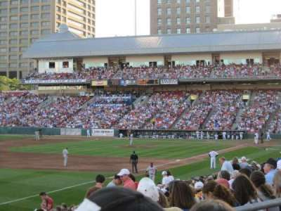 Coca-Cola Field, section: 121, row: S, seat: 5