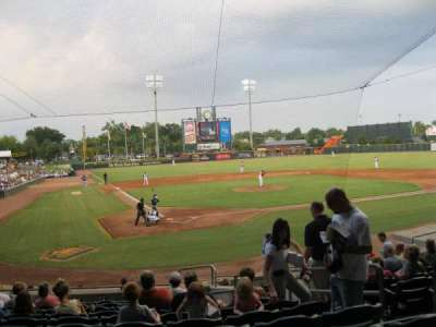 Baseball Grounds of Jacksonville, section: 109, row: R, seat: 15