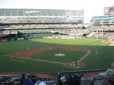 Oakland Alameda Coliseum, section: 219, row: 8, seat: 7