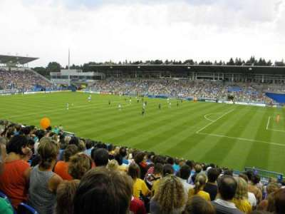 Saputo Stadium, section: 120, row: Y, seat: 6