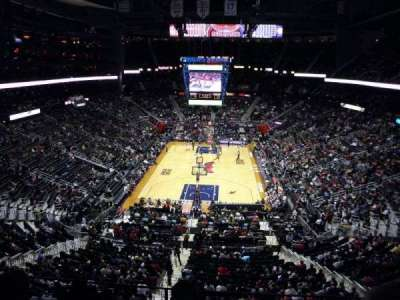 Philips Arena, section: 318, row: C, seat: 7