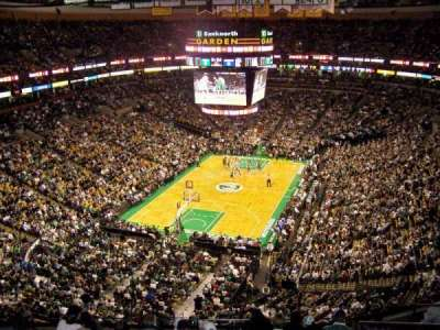TD Garden, section: BAL 307, row: 10, seat: 10