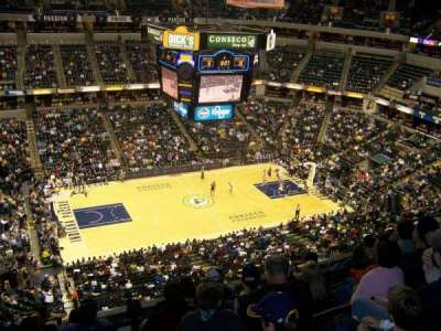 Bankers Life Fieldhouse, section: 226, row: 7, seat: 12