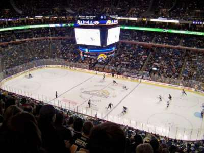 First Niagara Center, section: 318, row: 10, seat: 13
