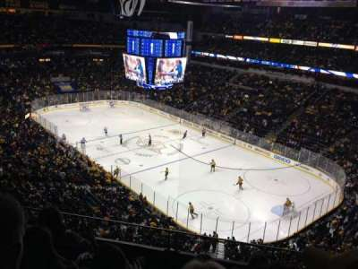 Bridgestone Arena, section: 330, row: E, seat: 4