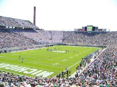 Spartan Stadium, section: 29, row: 42, seat: 22