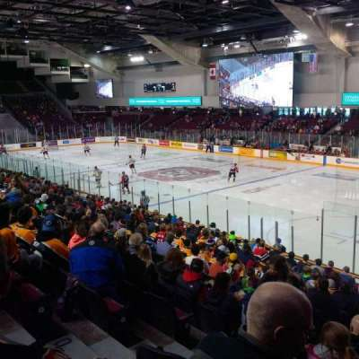 TD Place Arena, section: 16, row: R, seat: 12
