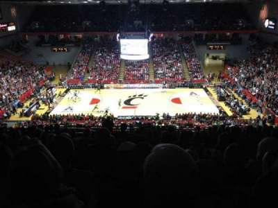Fifth Third Arena, section: 205, row: 18, seat: 4