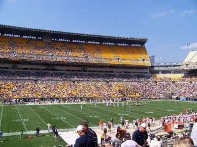 Heinz Field, section: 108, row: W, seat: 9