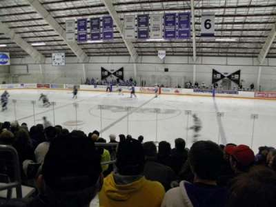 Dwyer Arena, section: 4, row: L, seat: 11