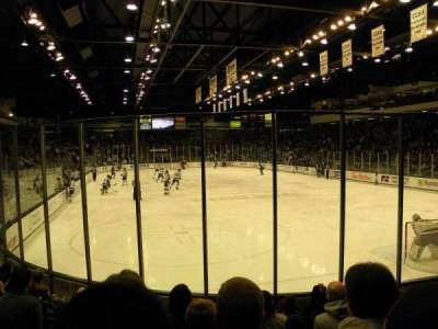 Munn Ice Arena, section: P, row: 8, seat: 4