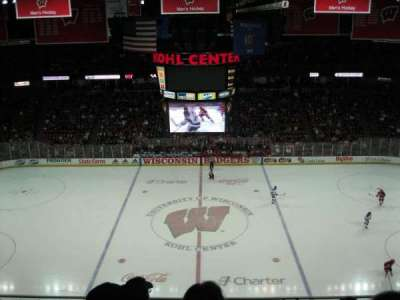 Kohl Center, section: 308, row: D, seat: 6