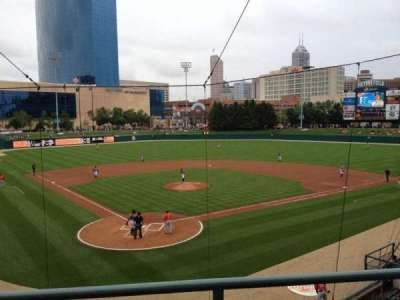 Victory Field, section: 211, row: B, seat: 4