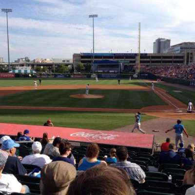 Coca-Cola Field, section: 109, row: N, seat: 6