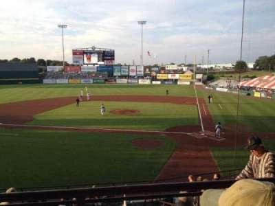 McCoy Stadium, section: 9, row: BB, seat: 9