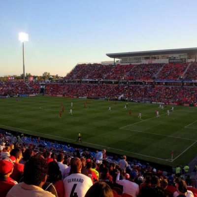 BMO Field, section: 104, row: 30, seat: 1