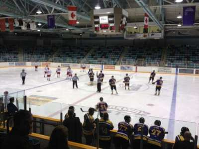 Waterloo Memorial Recreation Complex, section: C, row: H, seat: 12