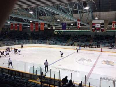 Waterloo Memorial Recreation Complex, section: R, row: L, seat: 4