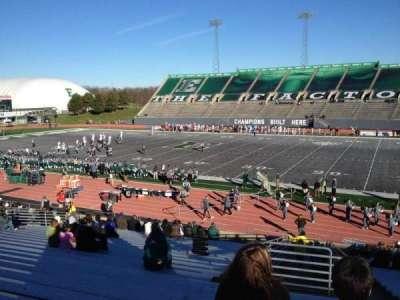 Rynearson Stadium, section: 107, row: BB, seat: 1
