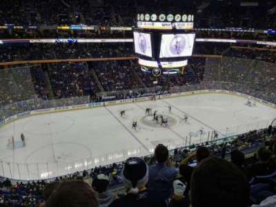 First Niagara Center, section: 322, row: 4, seat: 7
