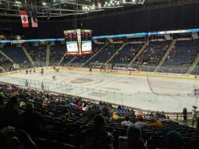 FirstOntario Centre, section: 119, row: 26 , seat: 7