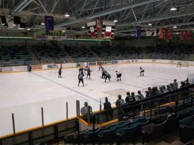 Waterloo Memorial Recreation Complex, section: F, row: J, seat: 4