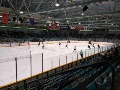 Waterloo Memorial Recreation Complex, section: U, row: J, seat: 2
