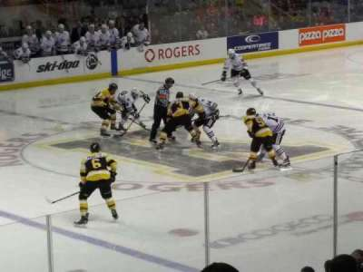 Rogers K-Rock Centre, section: 114, row: 15, seat: 7
