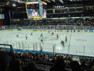 Enmax Centre, section: EE, row: 14, seat: 8
