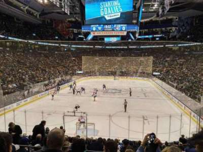 Air Canada Centre, section: 113, row: 21, seat: 11