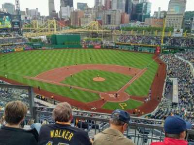 PNC Park, section: 318, row: F, seat: 10