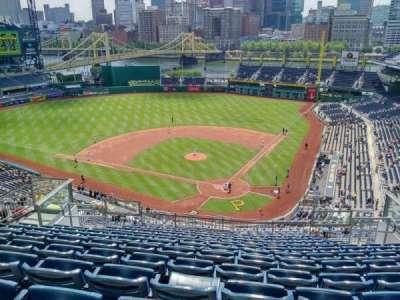 PNC Park, section: 318, row: Q, seat: 10