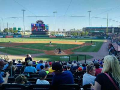 Coca-Cola Field, section: 101, row: V, seat: 7