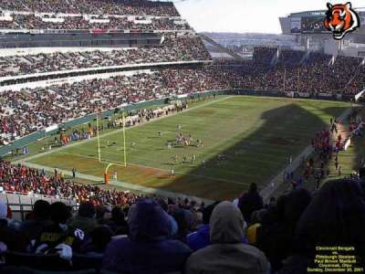 Paul Brown Stadium, section: 221, row: 26, seat: 3