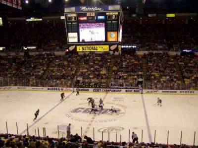 Joe Louis Arena, section: 207, row: 3, seat: 6