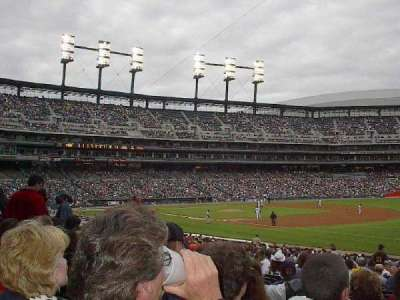 Comerica Park, section: 116, row: 34, seat: 10