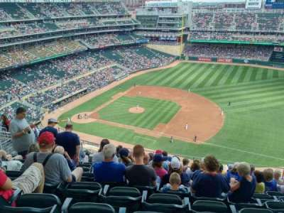 Target Field, section: 307, row: 10, seat: 9