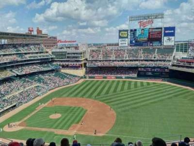 Target Field, section: 307, row: 10, seat: 7