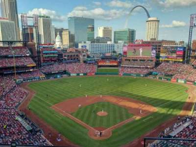 Busch Stadium, section: 450, row: 7, seat: 2